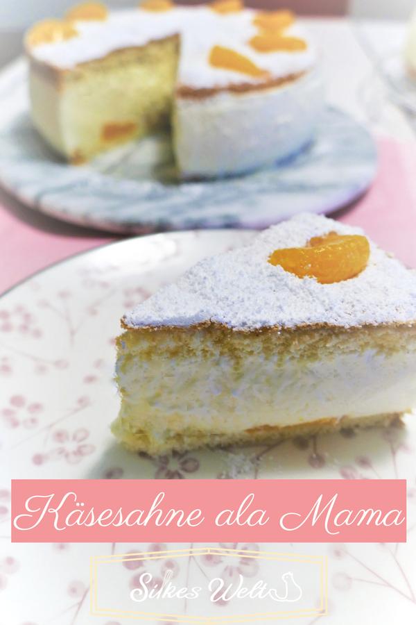 Kasesahne Ala Mama Rezept Kuchen Und Torten Lebensmittel Essen Und Rezepte