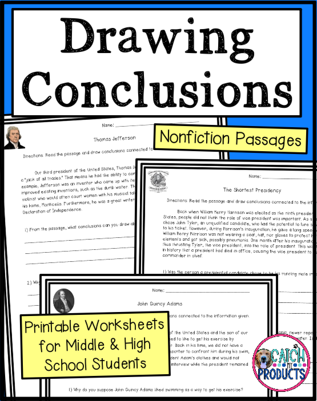 Worksheets Drawing Conclusions In Reading   Printable Worksheets and  Activities for Teachers [ 1406 x 1110 Pixel ]