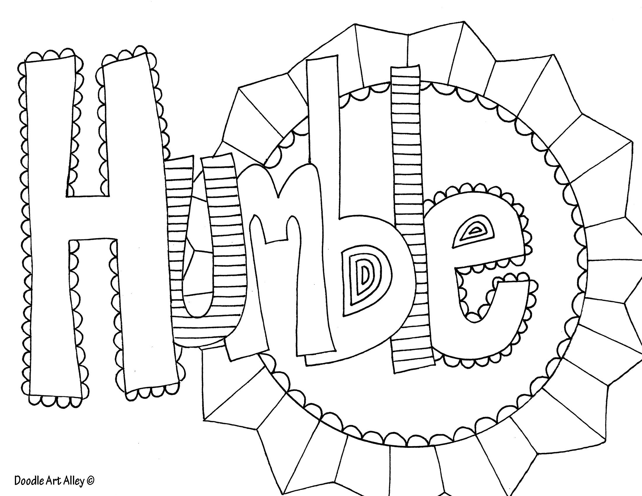 Geometric Doodling Templates