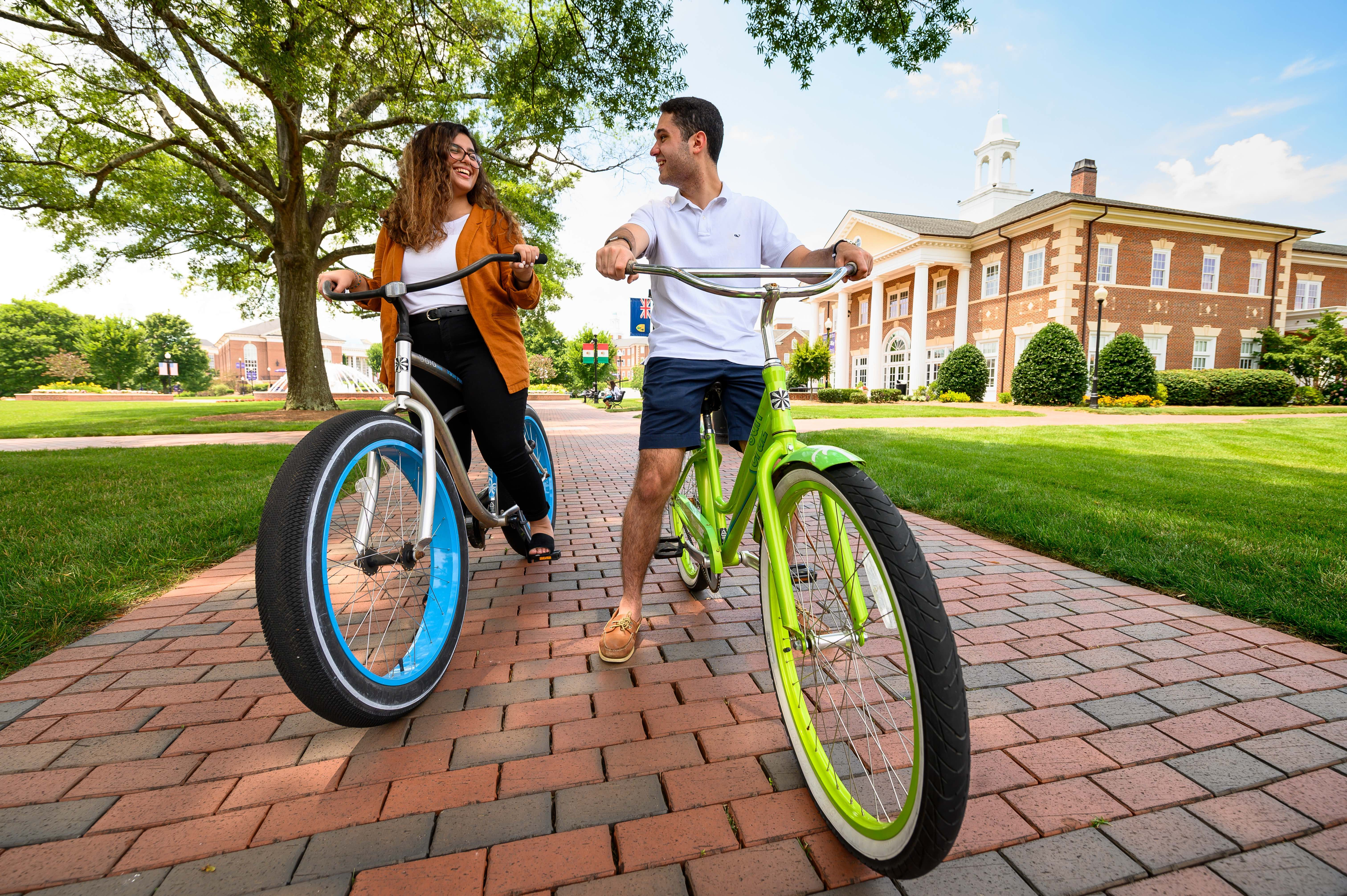 Students Can Check Out Complimentary Bikes From Hpu S Recreation