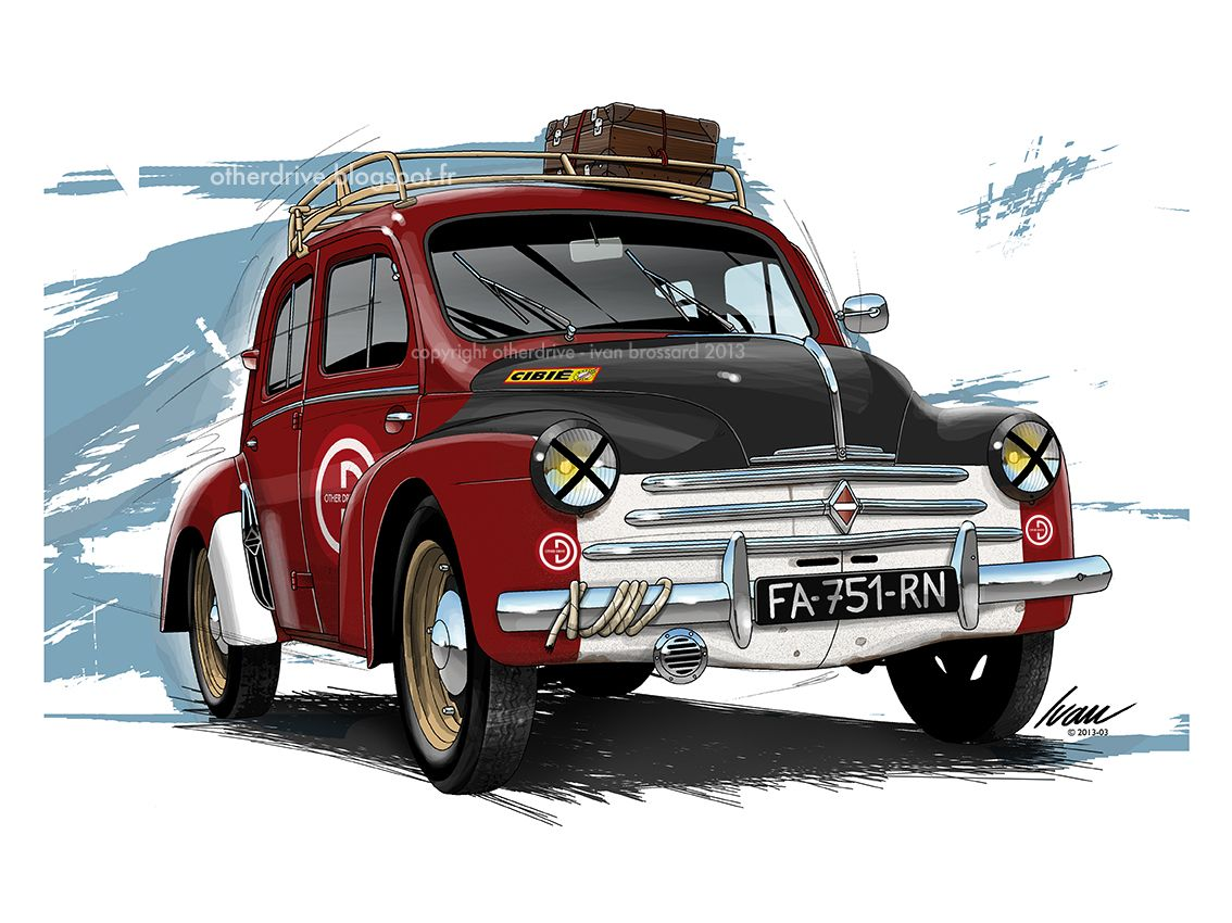 Renault 4cv rallye