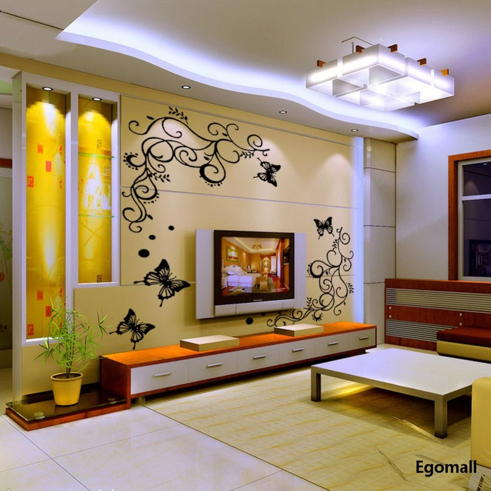 12 3d wallpaper for tv wall units that will make a on wall stickers for living room id=60231