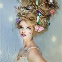 Hair Competition Ideas On Pinterest Fantasy Hair High Fashion Fantasy Hair Hair Hair Styles