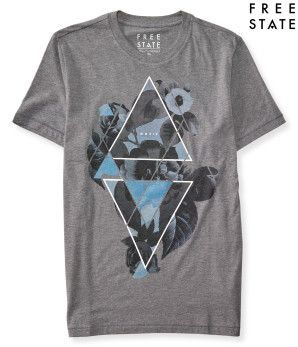 Free State Floral Triangle Graphic T -
