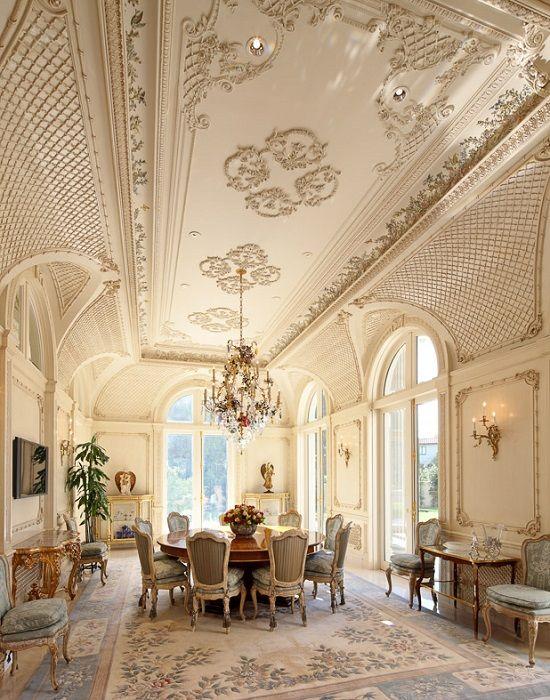 Luxury Living Room Room Design: Dazzling Royal Golden Luxury Living Room