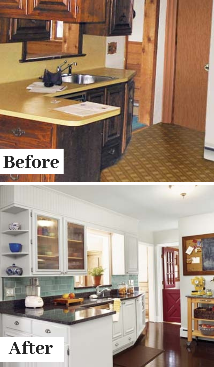 We Redid Our Kitchen For 6 000 Budget Kitchen Remodel Budget Remodel Kitchen Remodel