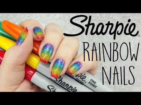 Sharpies Youtube Cool Nail Designs Club Receipts