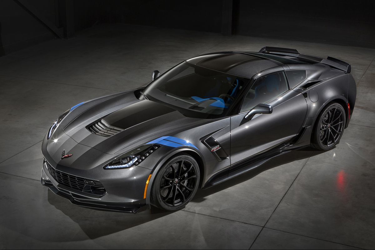 2017 Chevrolet Corvette Grand Sport is a Stingray with Z06