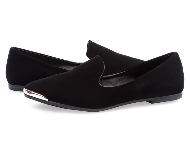 Flats Sahara Negros Coppel Zapatos Zapatos Mujer Negros
