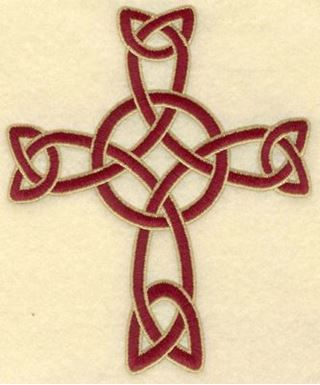Medium Celtic Cross Woven Ink Art Pinterest Tatting And Tattoo