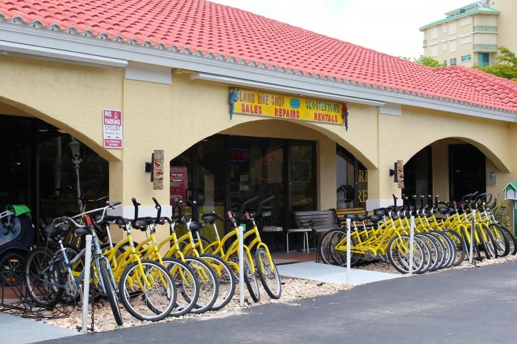 Scootertown And Island Bike Shop Keep The Wheels Turning In Naples And Marco Island Must Do Visitor Guides Bike Shop Marco Island Bike Rental