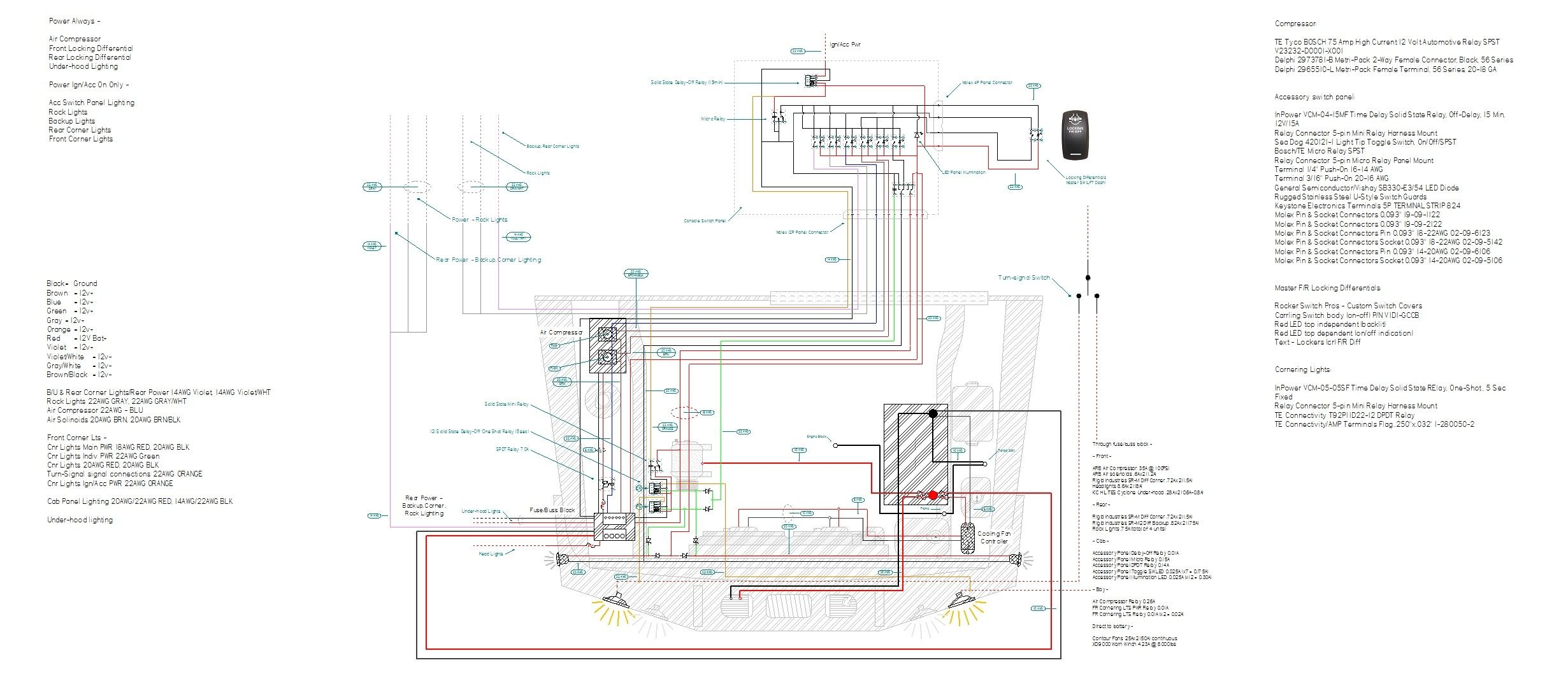 44040 Jeep 440 40tj Wiring Schematic   Fusebox and Wiring Diagram ...