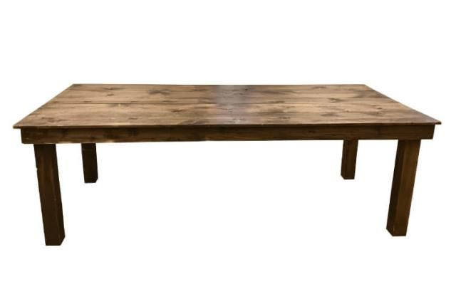 Farm table 43 inch x 8 foot rentals Denver CO | Where to ...