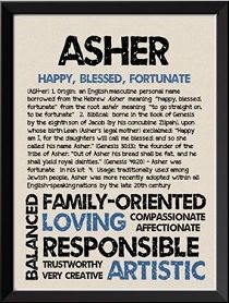 Asher Baby Boy Name Meaning And Origin New Baby Names Boy Name Meanings Baby Boy Names