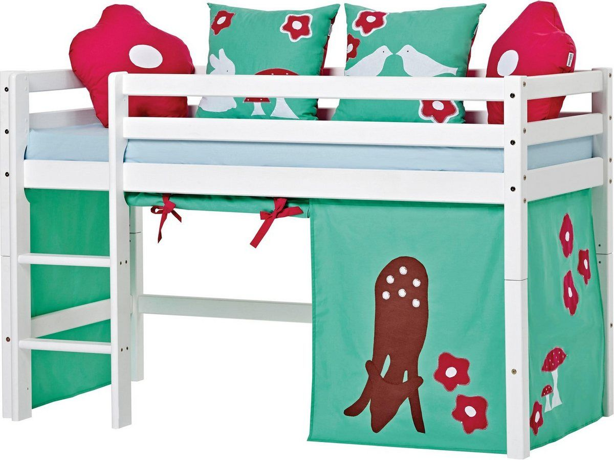 Hochbett »Forest« (3tlg.) Bett ideen, Kinderzimmer