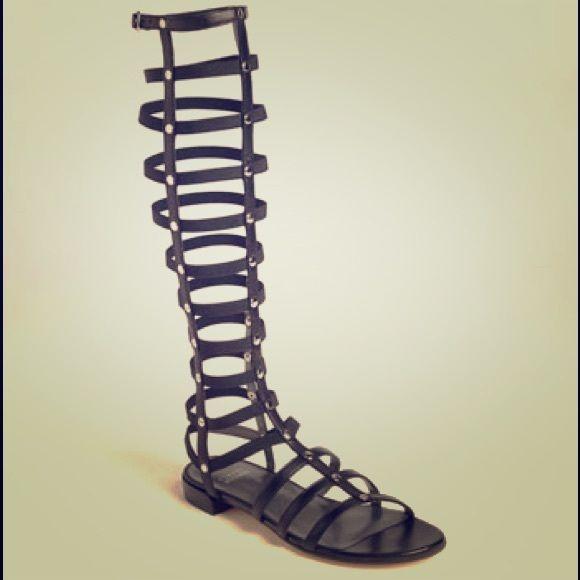 Stuart Weitzman gladiator sandals size 7.5 Stuart Weitzman gladiator sandals worn four times. Awesome condition! Stuart Weitzman Shoes Sandals