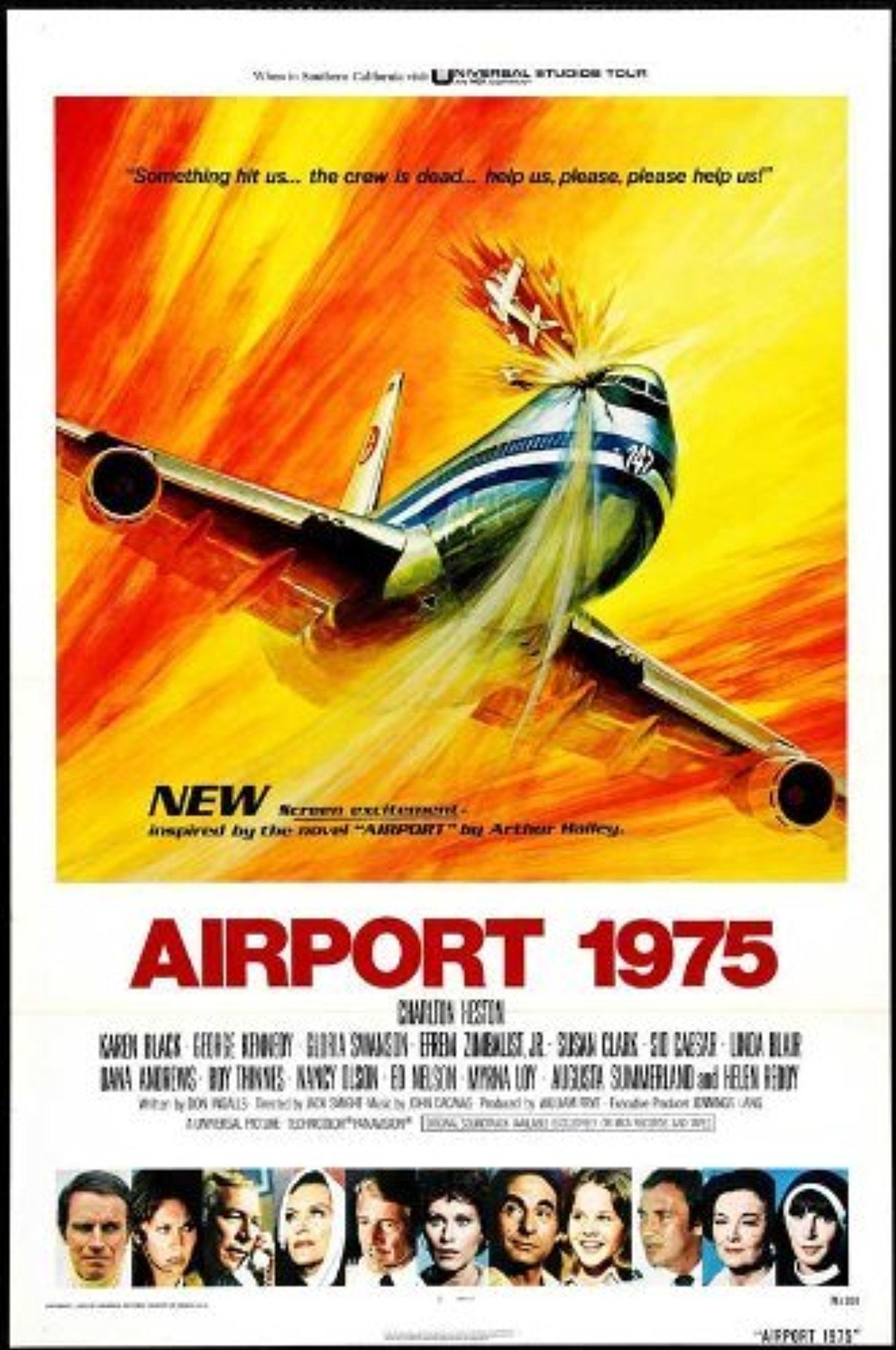 Decal Jewelry Airport 1975 27 Movie Poster (1974