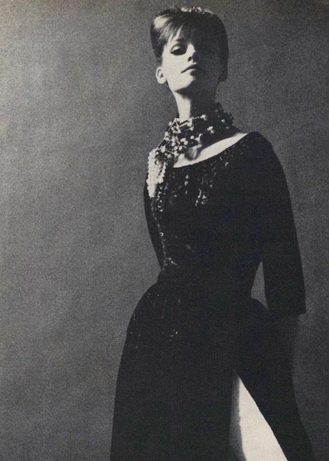 Motif de pyjama de soirée Galitzine des années 1960 - Vogue 1220 ...