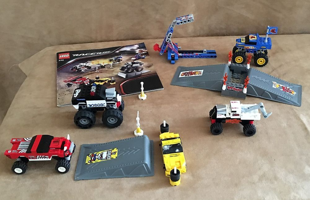 818 Lego Complete Racers Monster Crusher Instructions Car Rally Tiny
