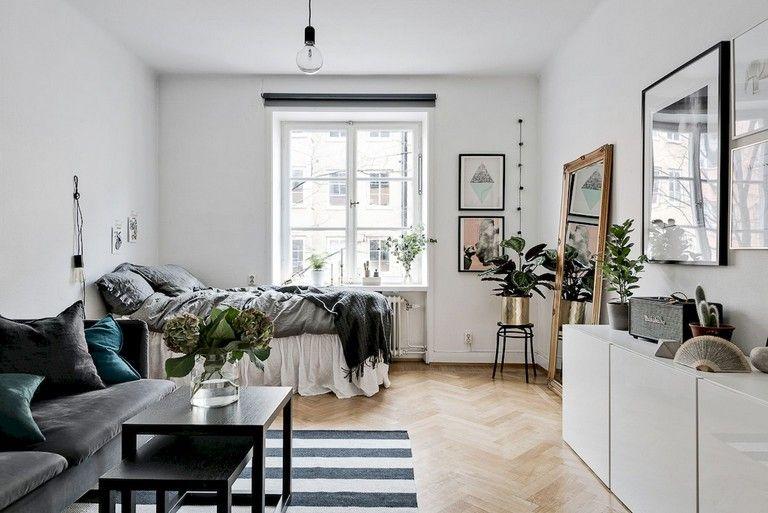 77 Stunning First Apartment Studio Decor Ideas Small Apartment