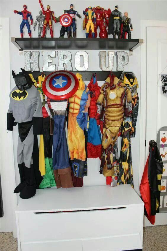 Superhero Bedroom For Boys