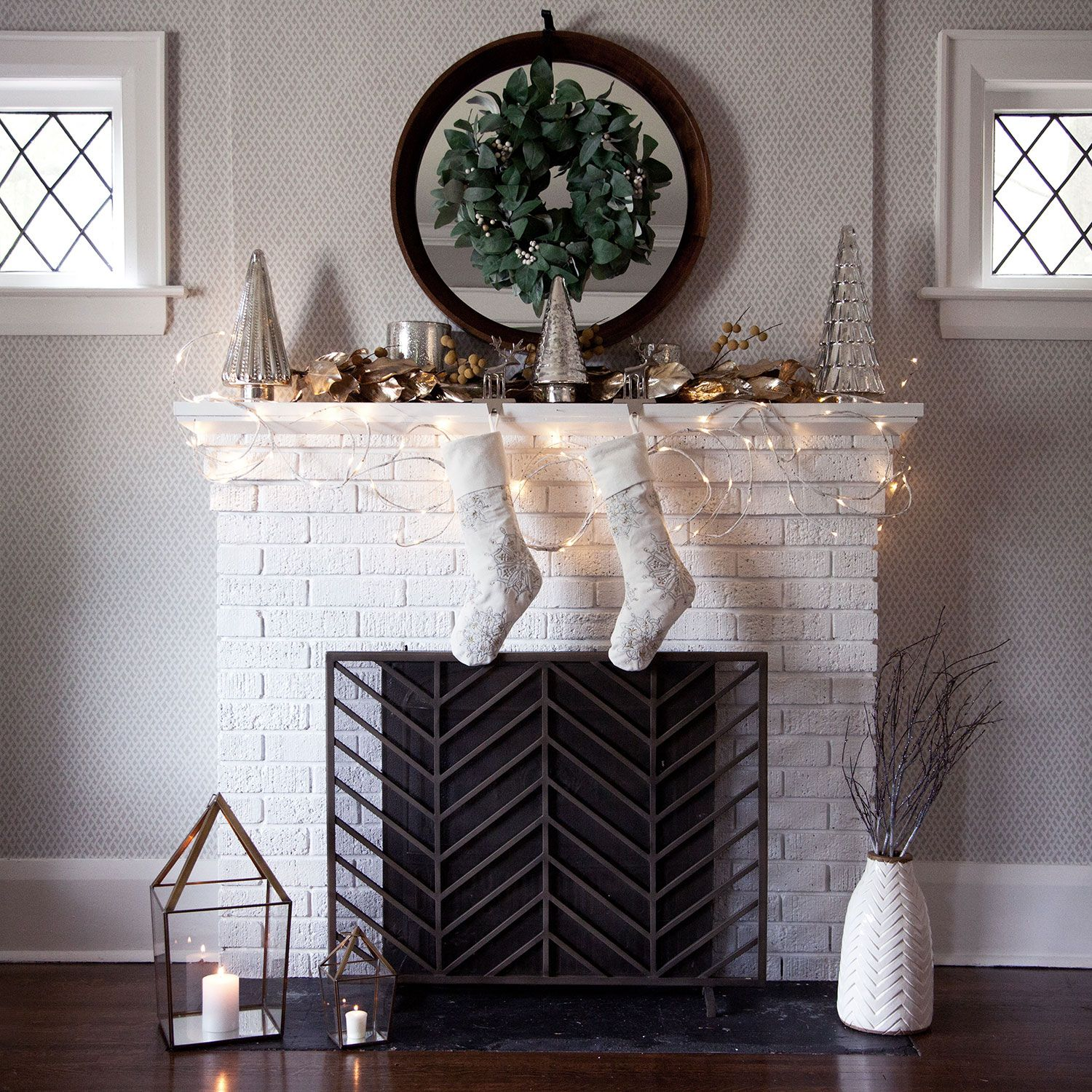 for color with screen punch screens print cover fireplace pin hacks and clever of home lovers white geometric a wallpaper decor
