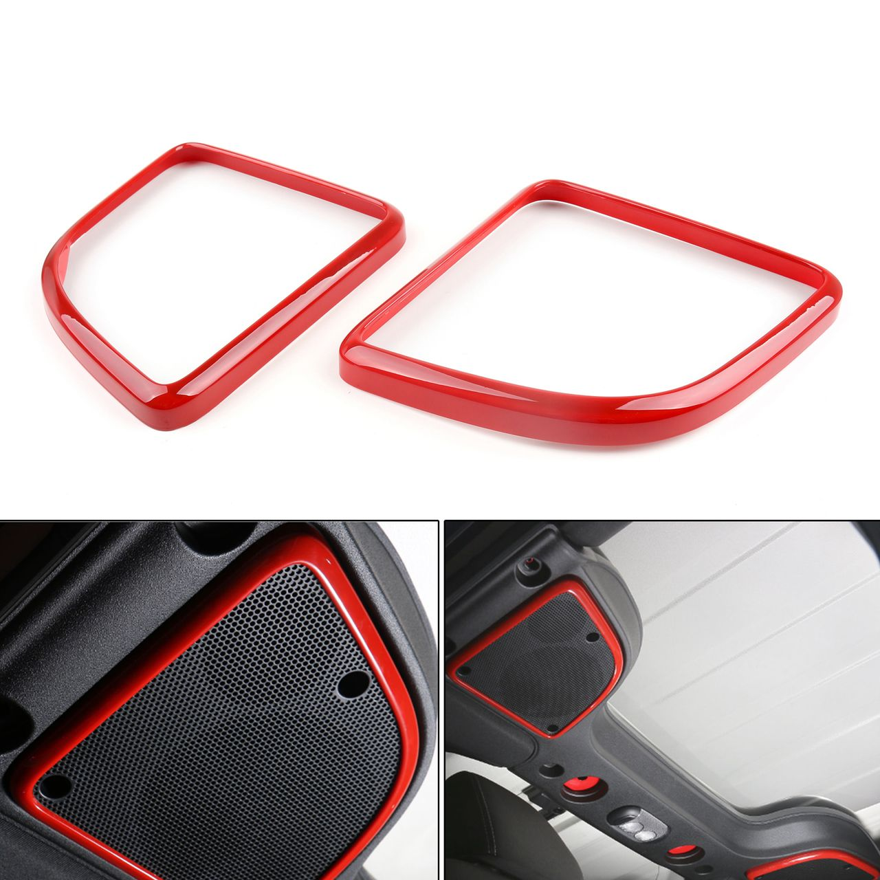 Mad Top Speaker ABS Trim Frame Cover Jeep