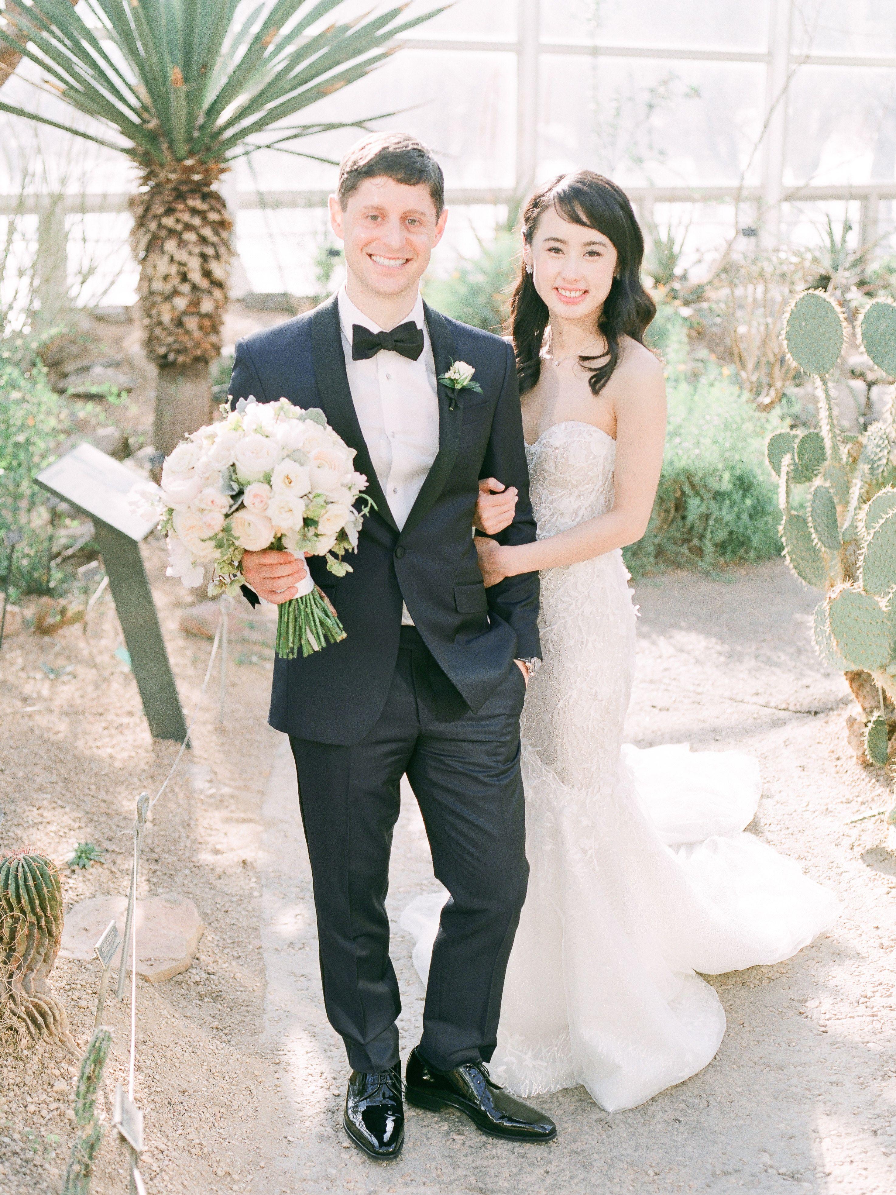 Brooklyn Botanic Garden Winter Wedding Brooklyn Bride