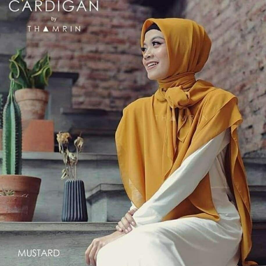 Bismillah..hijab jilbab Cardigan Material Cheruti Bervariasi 11