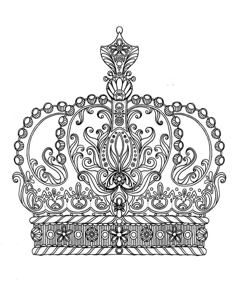 Korona Imperii Odezhda I Ukrasheniya Raskraski Antistress V 2020 G Knizhka Raskraska Raskraski Raskraski Mandala