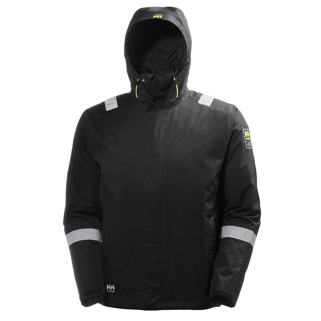 Photo of Helly Hansen Males's Black Aker Winter Jacket