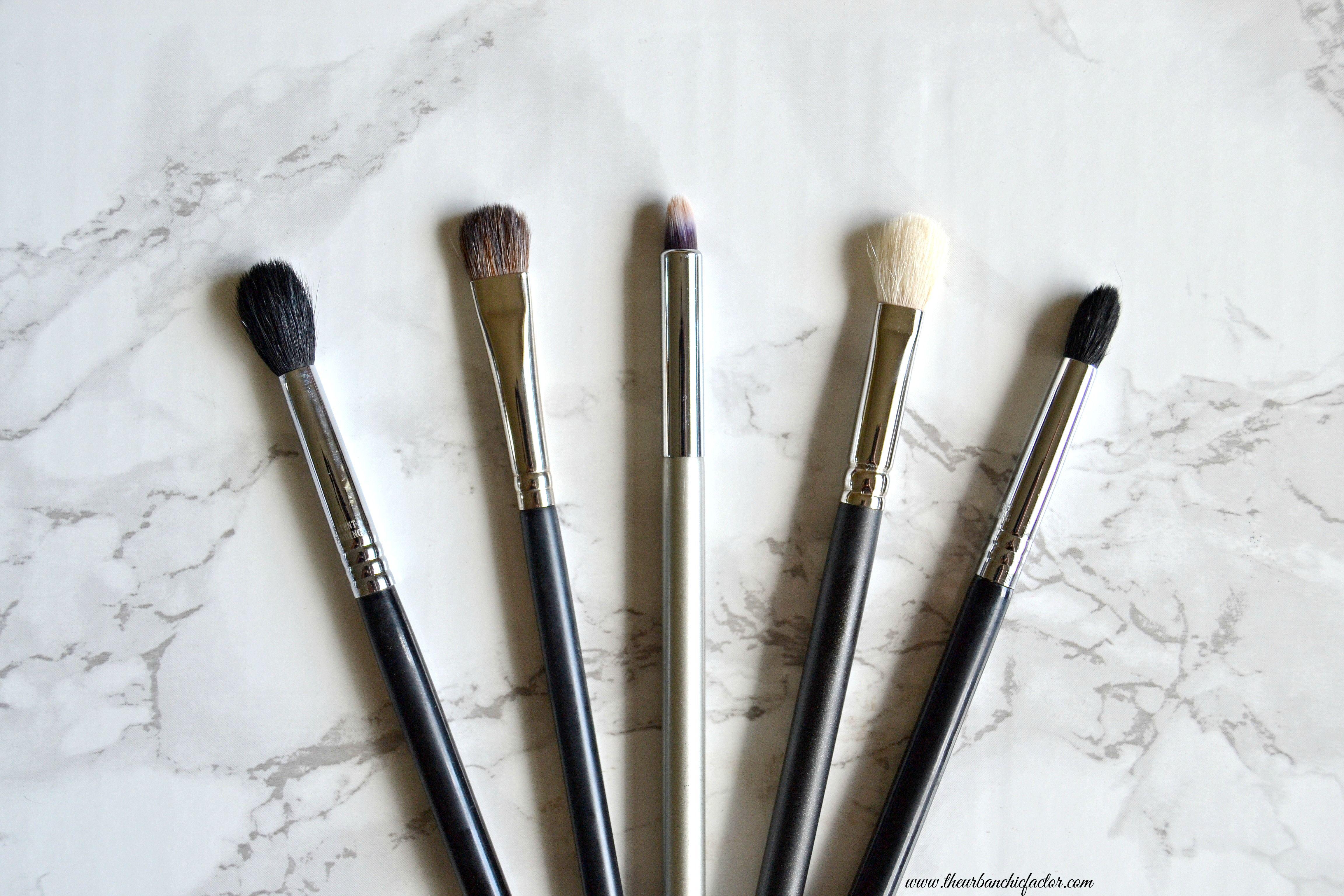 Top 5 Must Have Eye Makeup Brushes My Picks/ Beginner