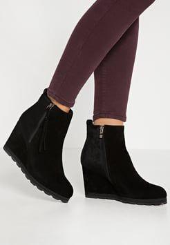 Alma en Pena Keilstiefelette black   Schuhe damen