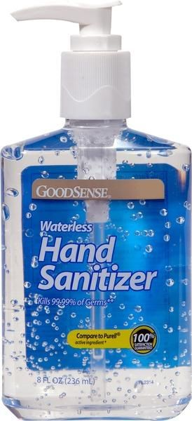 Wholesale Goodsense R Hand Sanitizer Pump 8 Oz 12 Units Hand