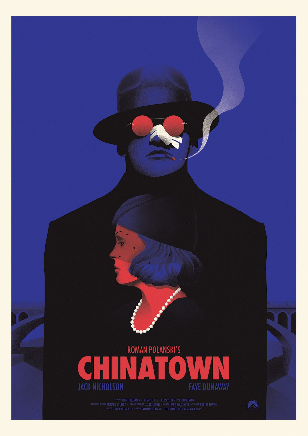 A4 available A2 Chinatown Vintage Movie Poster A3 A1
