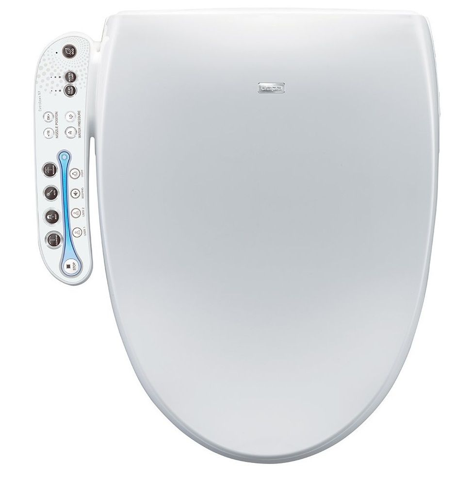 This Biobidet Aura A7 Intelligent Bidet Toilet Seat Elongated