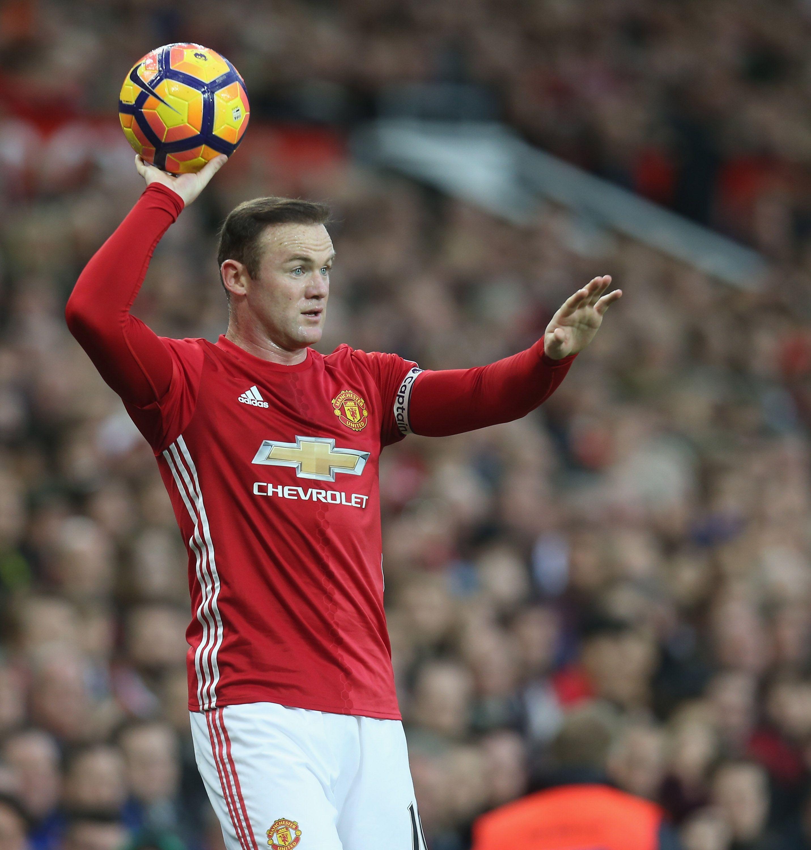 Manutd Captain Wayne Rooney Sepak Bola
