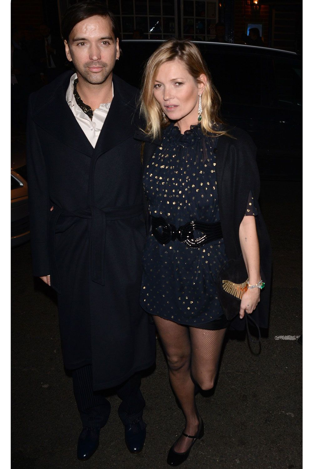 Eveningwear style inspiration from Kate Moss, Alexa Chung and Victoria Beckham...