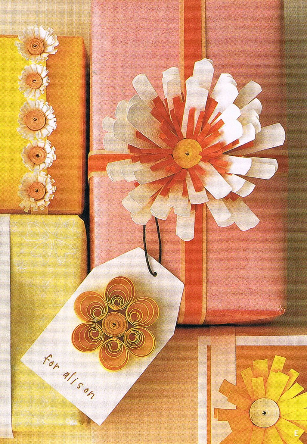 gift giving (c/o Martha By Mail, late Summer 2001)   entertaining ...
