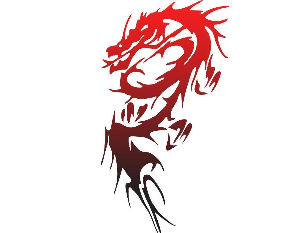 red dragon clan pictures | Red Dragon Symbol