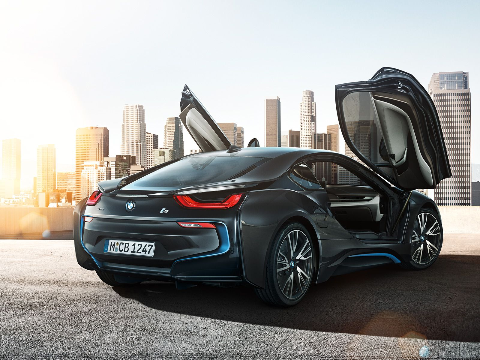 The bmw is ready to revolutionise its vehicle class as the first sports car with the consumption and emission values of a compact car