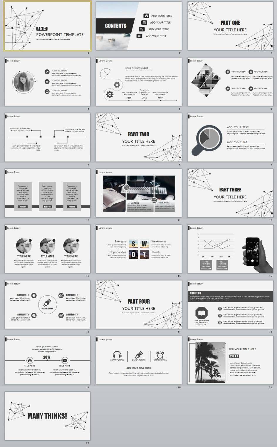 22 best gray business design powerpoint templates 2018 powerpoint 22 best gray business design powerpoint templates toneelgroepblik Choice Image
