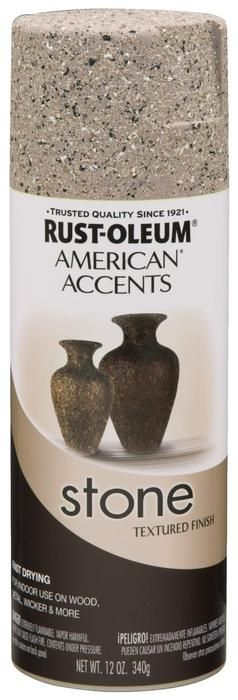 American Accents 7995830 Stone Creations Spray Paint 12