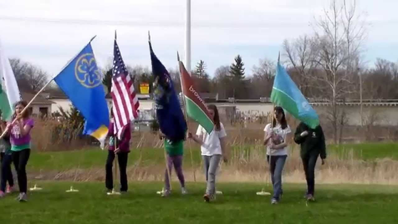 Girl Scouts Flag Ceremony How-To