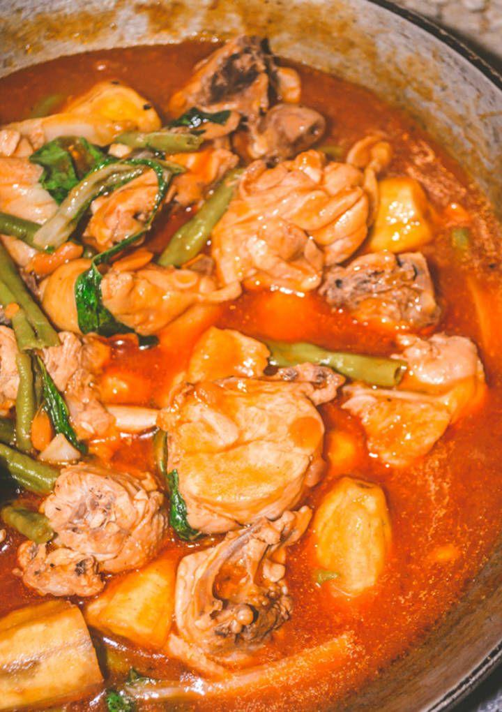 Filipino style chicken pochero recipe filipino filipino food filipino chicken pochero forumfinder Image collections