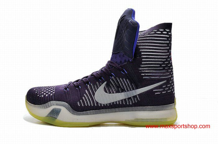 best website 9f28a 1aeb1 High Quality Cheap Nike Kobe X Elite Purple White Light-yellow Basketball  Shoes for sale,Amazing Price and Fast Delivery.