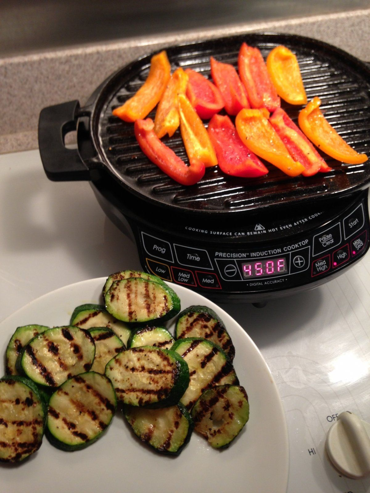 Summer May Be Coming To An End But That Doesn T Mean An End To Grilled Food With The Pic And Cast Iron Grill You Can Veggie Recipes Cooking Grilling Recipes