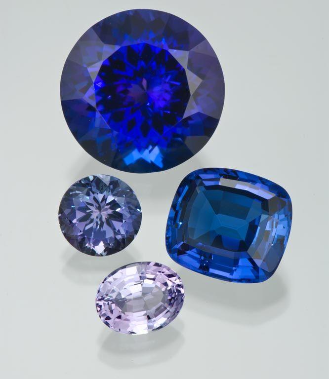 Colour Tanzanite: Tanzanite's Range Of Color These Gems Show Tanzanite's