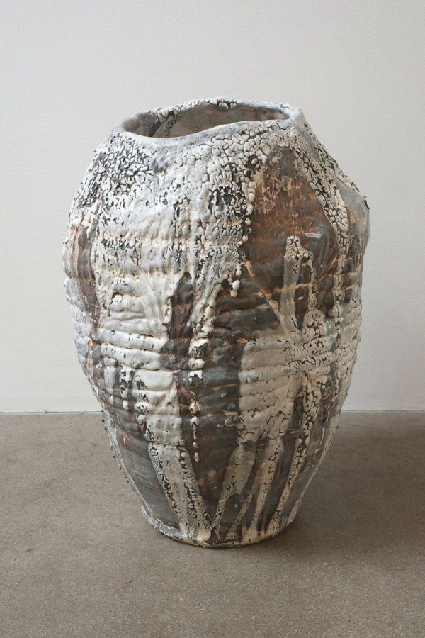Slogan Vase Iii 2012 Low Fire Glazed Ceramic 21 Quot X 15