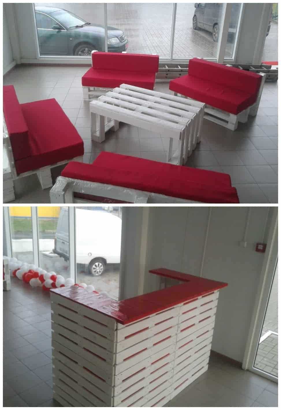 Muebles Hechos Con Tarimas Recicladas